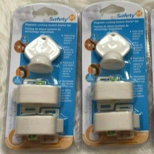Lot of 2 Safety 1st Magnetic Locking System